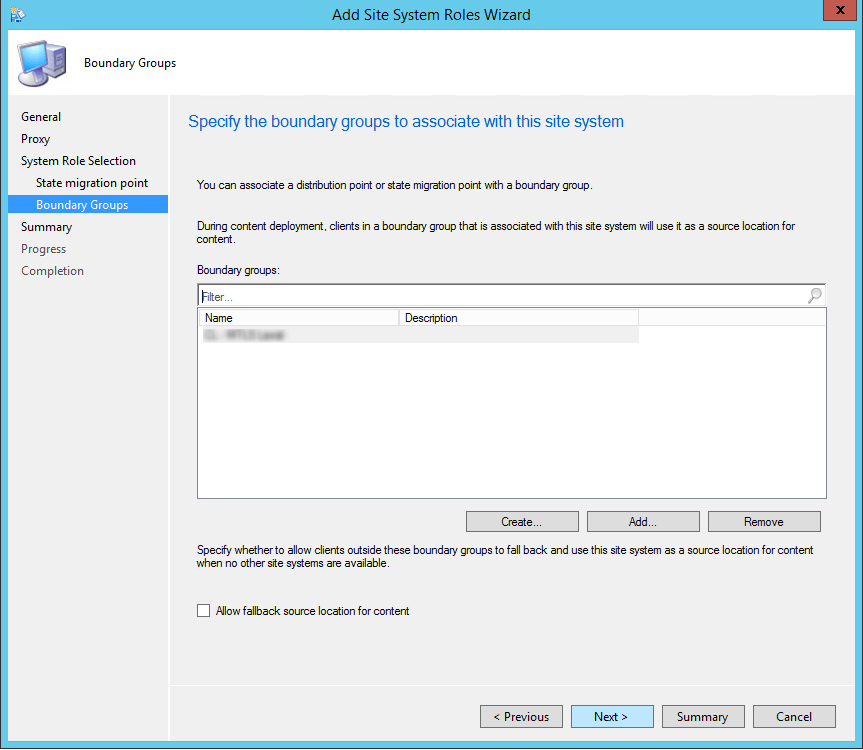 sccm 2012 state migration point
