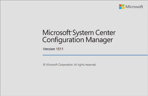 sccm 1511 upgrade