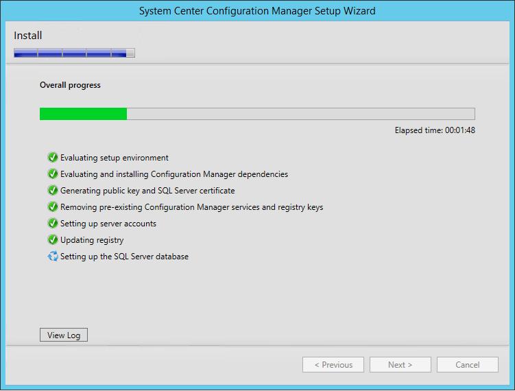 sccm 1511 upgrade