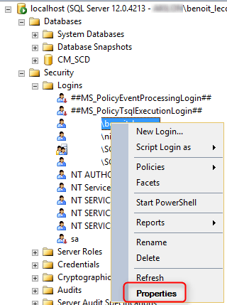 SCCM installation testdbupgrade