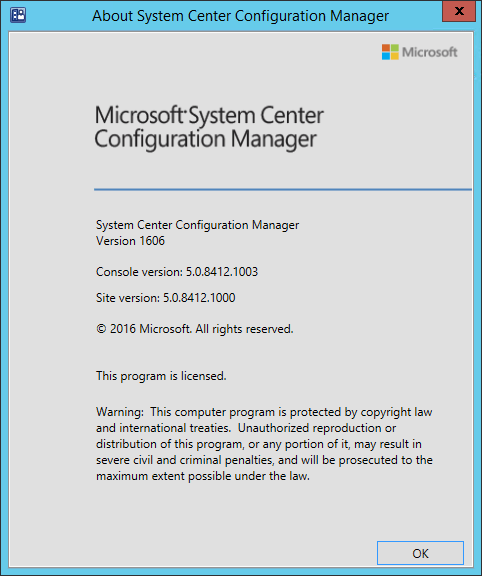 Step-by-Step SCCM 1606 Upgrade Guide