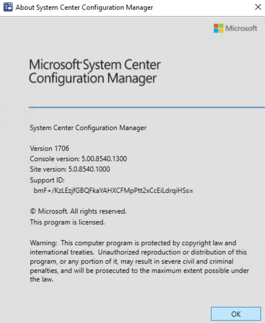 step by step sccm 1706 upgrade guide