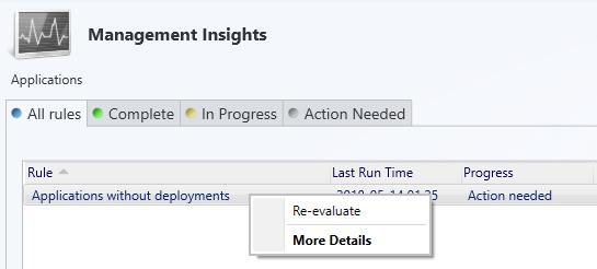 SCCM Management Insights