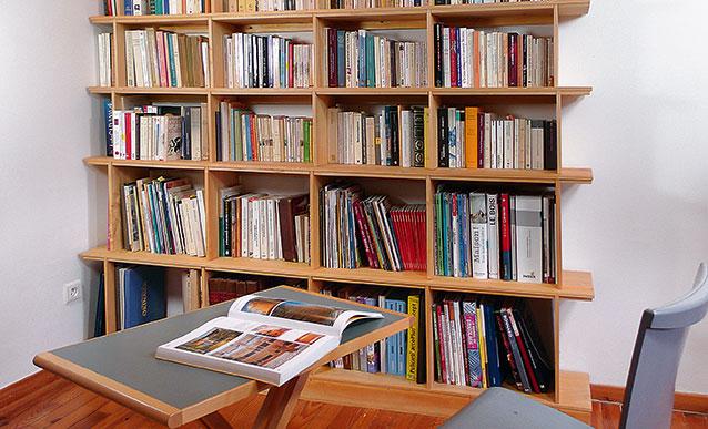 Construire Une Bibliotheque En Bois De Peuplier