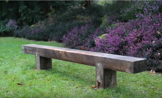 construire un banc en bois pour le jardin