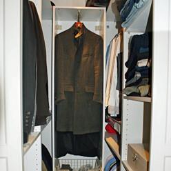 Simple Diy Un Vrai Dressing Gain De Place With Faire