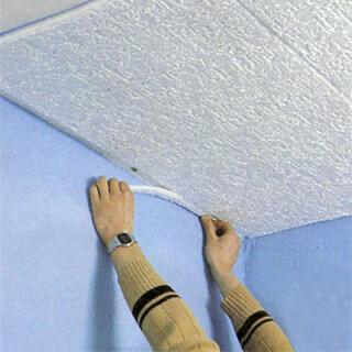Renover Un Plafond Avec Des Dalles De Polystyrene
