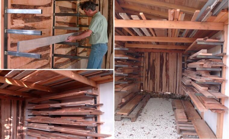 ranger des planches de bois