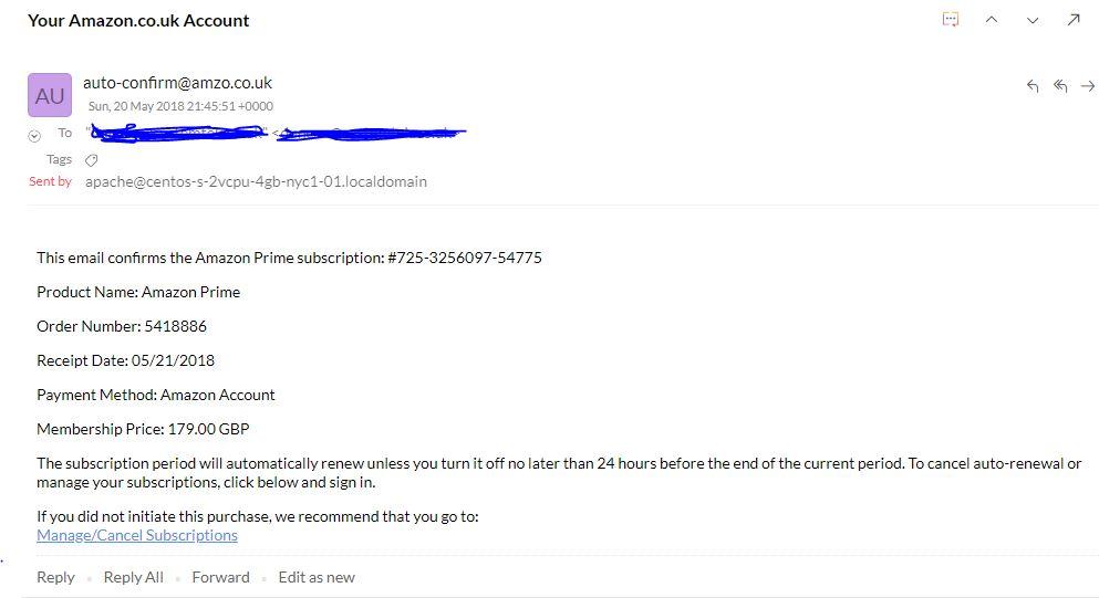 How to cancel amazon prime membership uk