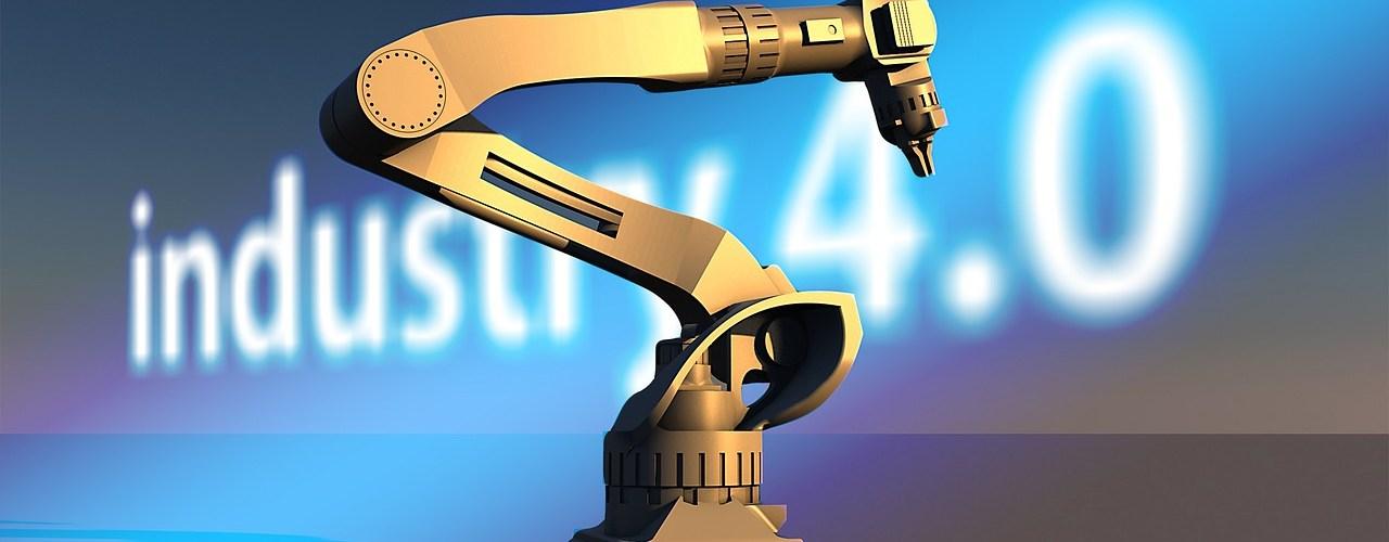 Robot industrial industria 4.0