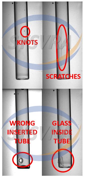 玻璃安瓿瓶中的缺陷