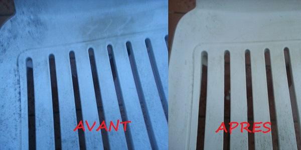 chaise avant et après