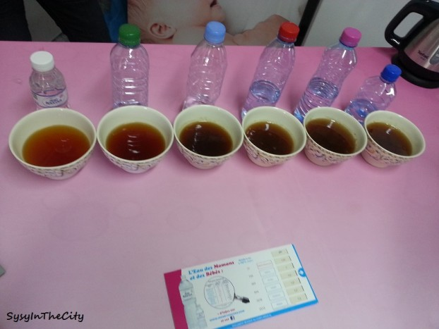 différence entre eau avec thé mont roucous