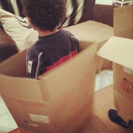 cartons jouets