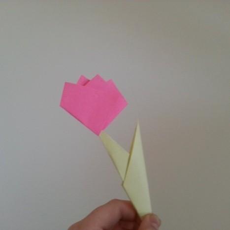 fleur origami hello kitty