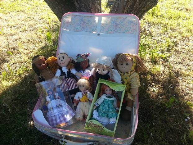 poupées collection pays sysyinthecity
