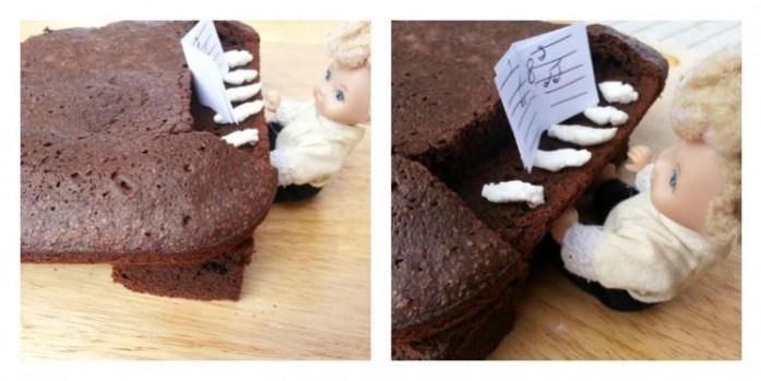 gâteau chocolat piano sysyinthecity