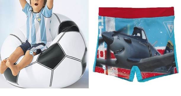 ballon gonflable maillot de bain planes