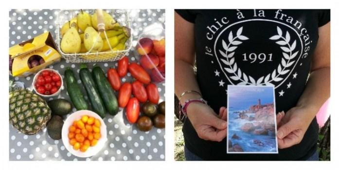 fruits carte postale