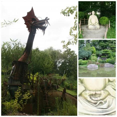 jardin statue zen sysyinthecity toulouse