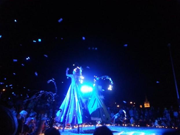 spectacle nocturne marraines