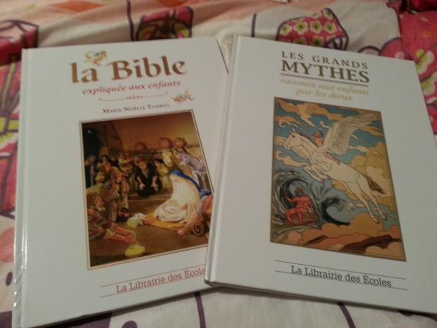 Livres bible dieux