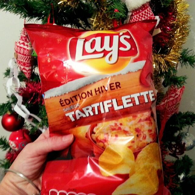 chips tartiflette