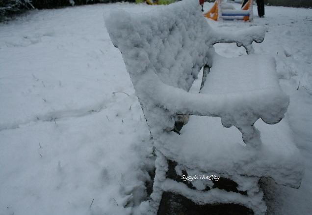 banc sous la neige sysyinthecity toulouse 030215