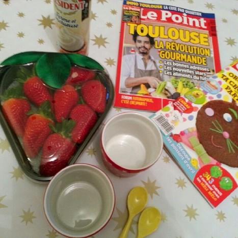 pause fraises