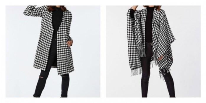 manteau poncho