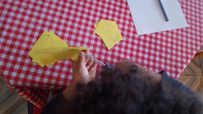 poule pâques en papier sysyinthecity defibrico