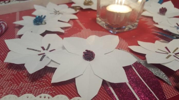 bougie-couronne-fleur-papier-origami