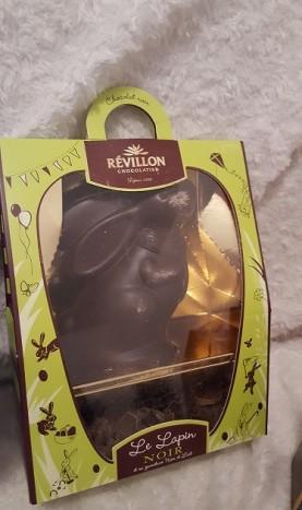 lapin chocolat noir révillon