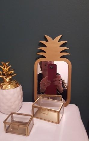 miroir ananas tati