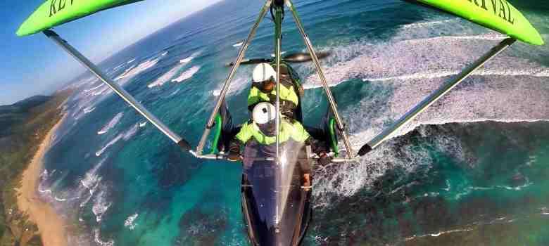 hang gliding hawaii