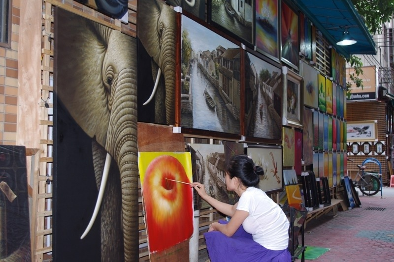 Dafen Oil Painting Village Photo 3