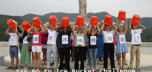 Say No to Ice Bucket Challenge