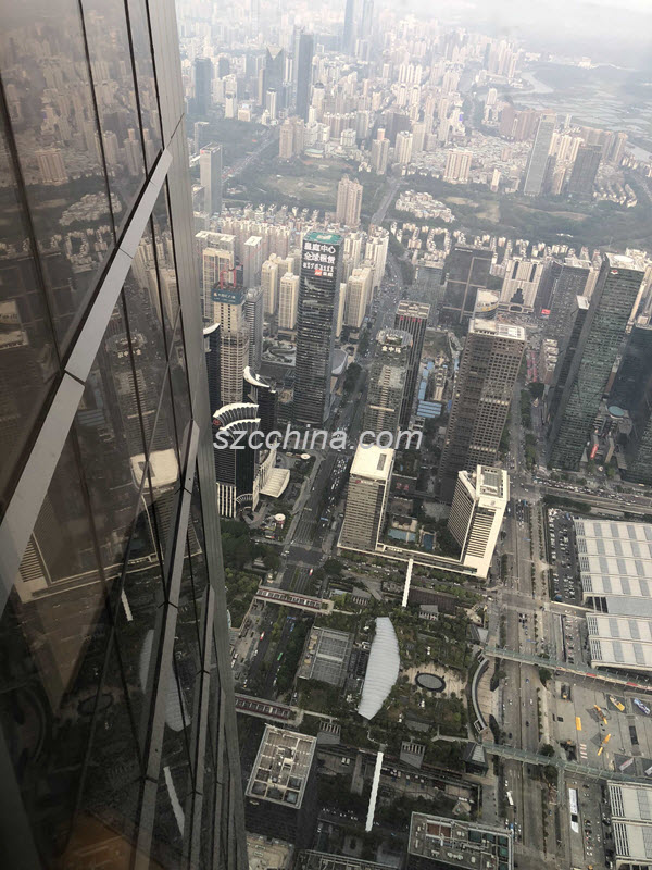 Shenzhen Ping An Finance Centre sightseeing 3