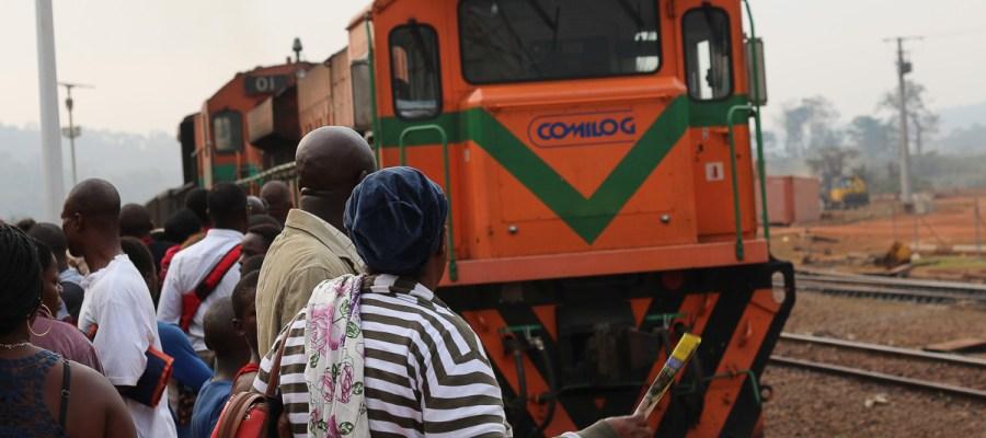 Pociąg w Gabonie