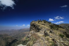 Etiopia - Góry Semien - Na szlaku do Chenek