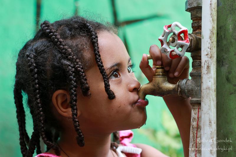 Gonder – Mała dziewczynka