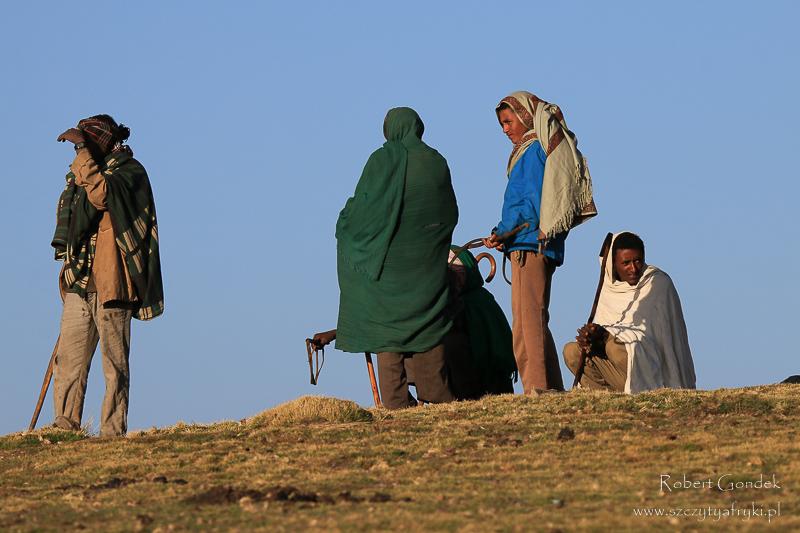 Koszt trekkingu w Etiopii - obsługa trekkingów w Górach Semien