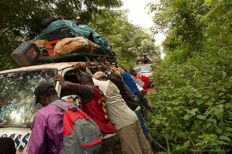 Podróż marzeń przez Kamerun. W drodze z Somalomo do Jaunde