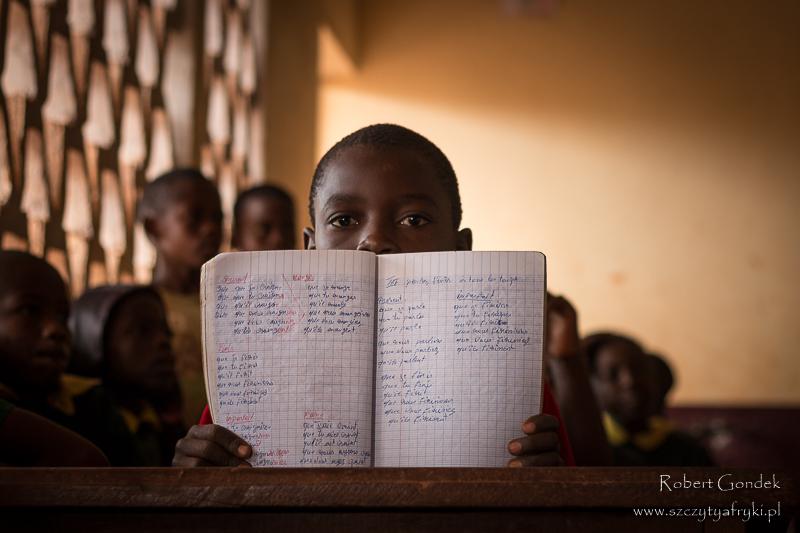 W szkole w Somalomo