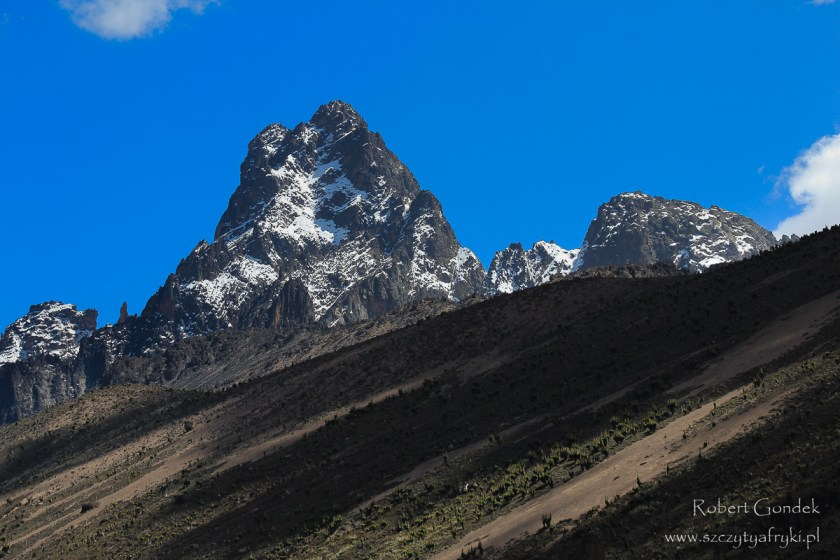 Najwyższe góry w Afryce na zdjęciach - Mount Kenya
