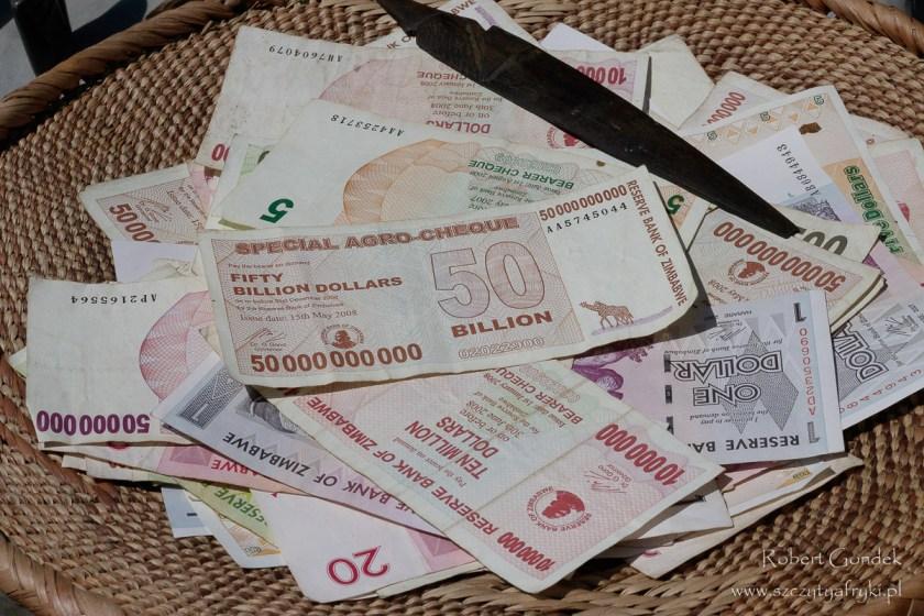 Koszt podróży do Zimbabwe