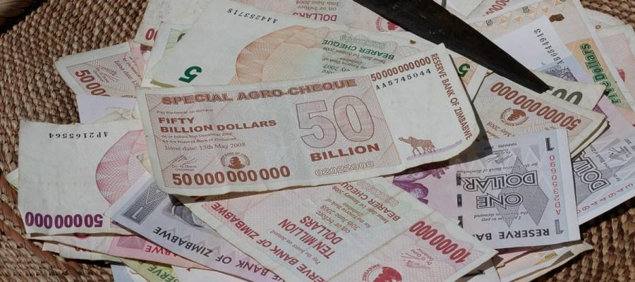 Pamiątkowe dolary z Zimbabwe