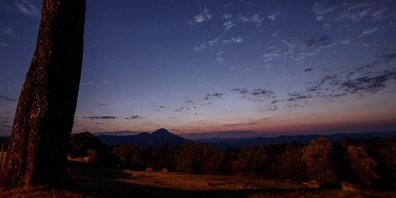 Zachód słońca w Juliasdale