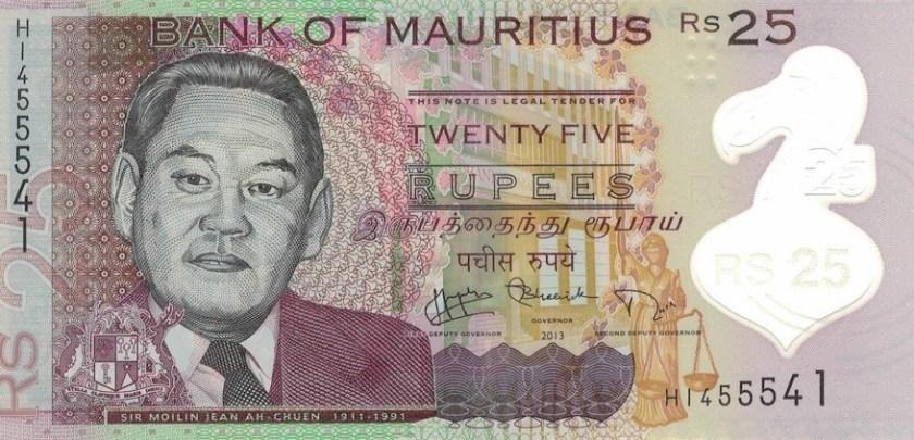 Koszt podróży na Mauritius z dzieckiem - rupie maurytyjskie