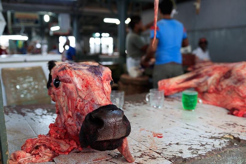 Targ mięsny w Port Louis